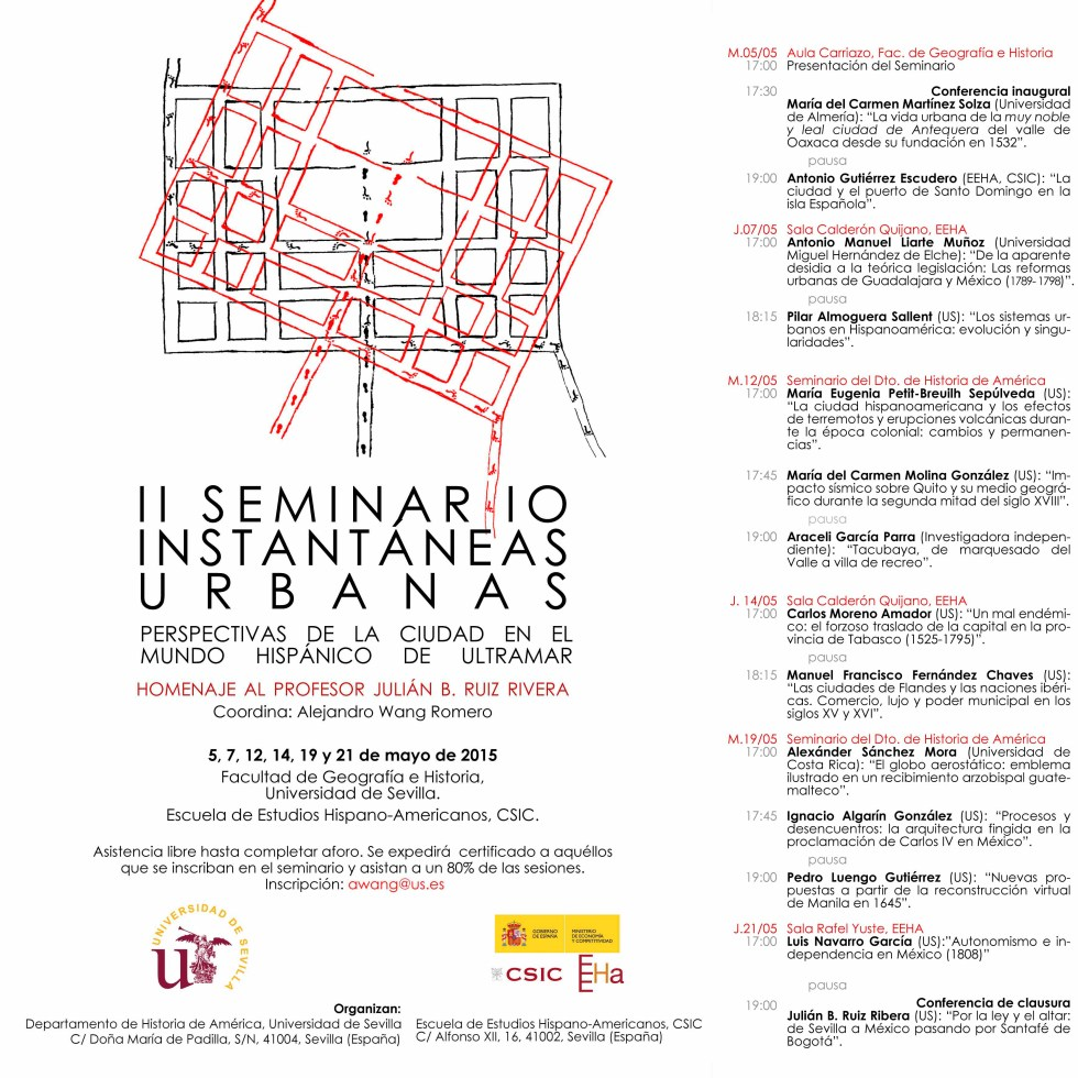 II seminario de Instantaneas urbanas